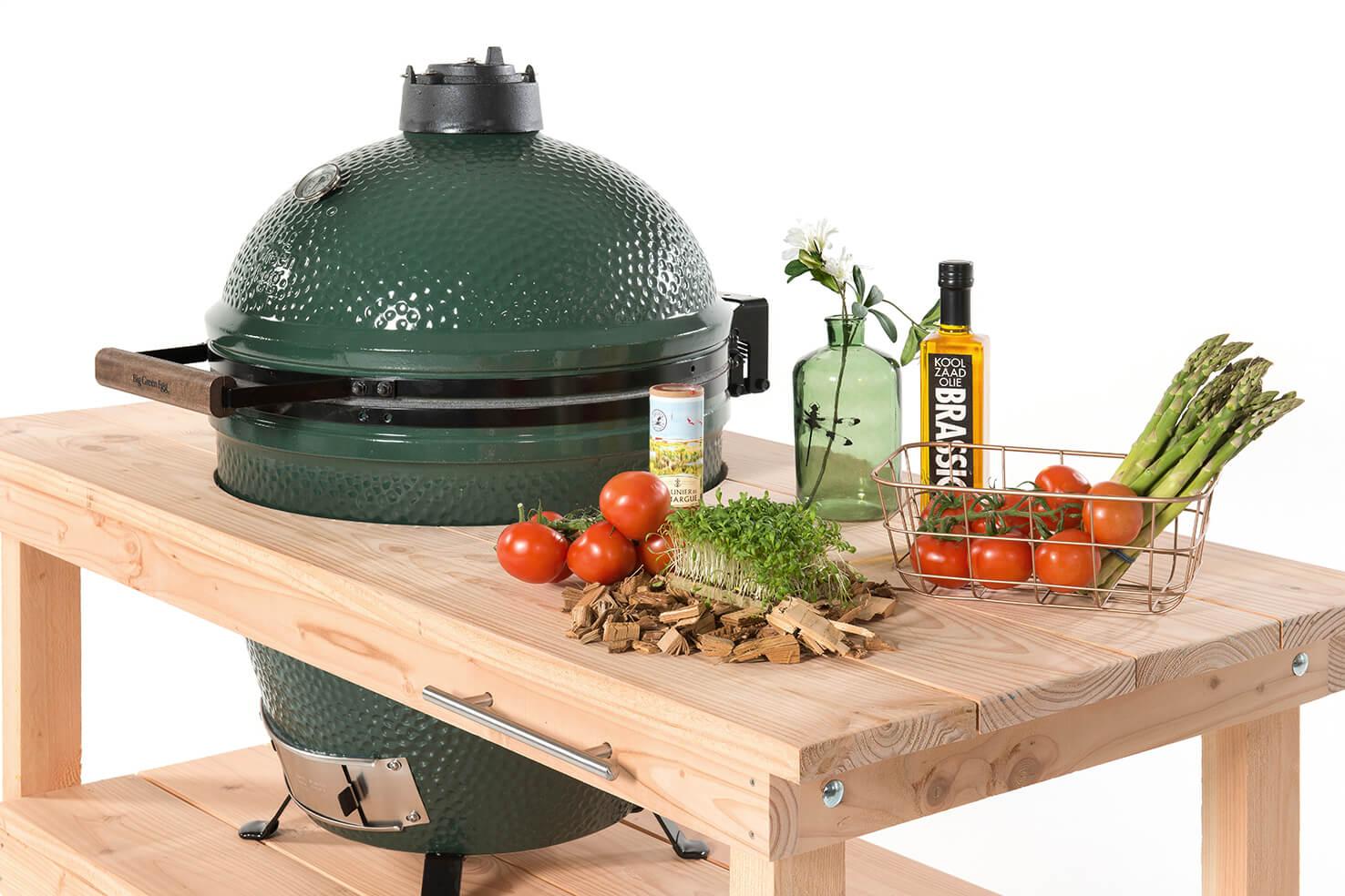 big green egg xl douglas tafel. Black Bedroom Furniture Sets. Home Design Ideas